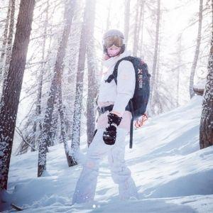 AMBAMBASSADEUR PAGE PAULINE LE ROUX EIVY GIRLS CAMP SNOWBOARD